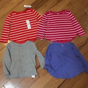 4 long sleeve shirts